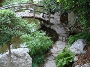 A Bridge in the Garden